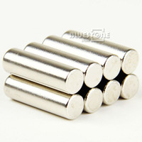 Wholesale 50 Strong Round Long Cylinder Magnets D6 mm x mm Rare Earth Neodymium mm