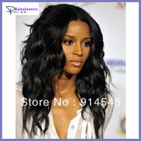 Wholesale Loose Wave virgin glueless lace wigs brazilain hair Malaysian peruvian virgin hair lace front wigs middle parting