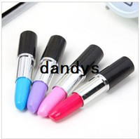 Wholesale 20 Promotion Novelty Pen Lipstick Style Ballpoint Pen Lovely Gift