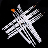 Wholesale professinal Nail Art Brush Set Design Painting Pen for natural false and D Beauty