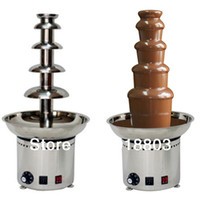 Wholesale 110v v Electric Tiers Party Hotel Commercial Chocolate Fountain
