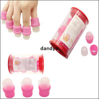 Yes acrylic remover - 10pcs Wearable Salon Acrylic Nail Polish Remover Soak Soakers Pink UV Gel