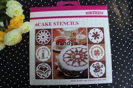 Wholesale set Tiramisu cake stencils spray mold tool bakery pastry cake Cake Decorator PROMOTION