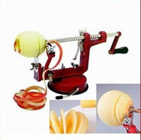 Peelers & Zesters apple pits - 1pcs Versatile apple peeler fruit peeled pitted sliced three in one tool