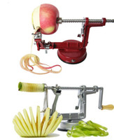 Set apple potato peeler - 3 in Apple Slinky Machine Peeler Corer Potato Fruit Cutter Slicer Kitchen Tool