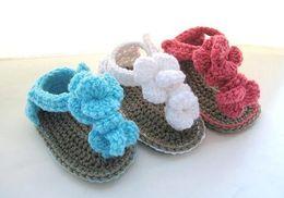 35%off 6pairs 12pcs Factory Outlet Hot models customized,hybrid models newborn crochet flowers shoes discount shoes kid shoes shoes online