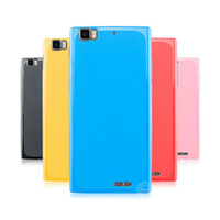 Plastic Lenovo  New Colorful Jelly TPU Rubber Gel Case Skin Cover Shell for Lenovo K900 Anti-Scratch Mix Color