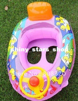 Pool Zhejiang China (Mainland) pink green 5-6color Freeshipping!!! 10PCS Inflatable Pool Summer Swimming Swim Kids Seat Float ZF067
