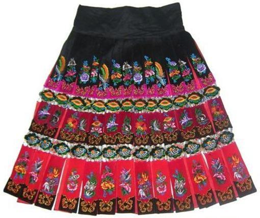 2017 tribal vintage clothing costume dress hmong miao