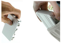 aluminum suitcases - Business ID Credit Card Wallet Holder Mini Suitcase Shape Card Case Aluminum Metal Case Box C0896