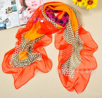 Wholesale 2013 New Fashion Lady s Scarves Big Size Square Printed Kerchief Beachwear Scarf Colors