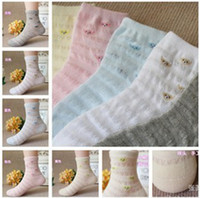 Wholesale Baby bearsocks Children s Summer cotton socks fishnet stockings