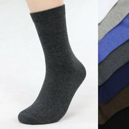 Wholesale 10 Pairs Hot Fashion Men s Cotton Socks Men Dress Socks Free Size Colors