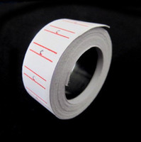 Paper Price Tags  20 Rolls set lot Price Label Paper Tag Tagging Pricing For MX-5500 Labeller Gun White 470pcs roll set