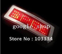 Wholesale New Red Flashlight LED Belt Buckle Cool Stylish Party Bar Accessaries amp