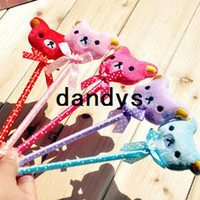 Boys' advertising cartoons - Bow cartoon animal pen novelty bear bear ballpoint advertising school office student children kid