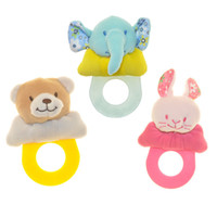 Elephant Rabbit  baby rattles teethers - Baby rattles baby toy year old newborn teethers baby hand rattles combination B957
