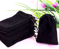 Wholesale x9cm Velvet Drawstring Pouch Bag Jewelry Bag Christmas Wedding Gift Bag