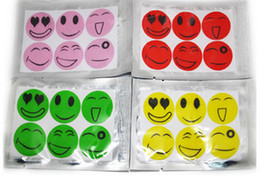 Wholesale Smiling Face Best Mosquito Natural Repellent Patch Insect bug repellent sticker Camping use