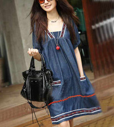 Wholesale retail fashion maternity wear summer Short sleeve clothes national dress skirt for Pregnant women T9602