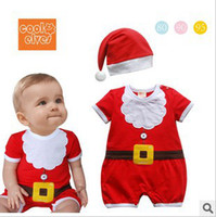 Wholesale New Christmas shape Romper short sleeve Romper short sleeve Christmas leotard climbing clothes piece