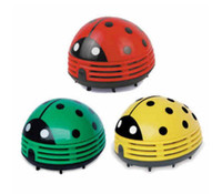 Wholesale New Arrive Multi Function Table Dust Vacuum Cleaner Mini Innovative Ladybug