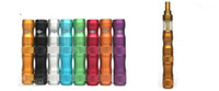 x6 grand tube de lave achat en gros de-Brand New Great Lava Tube X6 VV E Batterie Cigarette 1300mAh Batterie Haute Capacité Factory Supply Janet