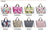 cooler pack - Brand New Large Fashion Ice Pack Cooler Lunch Bag Insulation Colorful Outdoor Picnic Bag Hand Bags