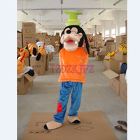 Wholesale High Quality Goofy Dog Mascot Cartoon Costume Fancy Dress Halloween Costume