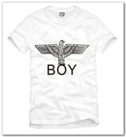 Wholesale high quality summer kids tshirt boy london eagle printed t shirt anime tee shirt for children cotton color