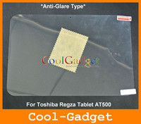 Wholesale Anti Glare Matte Screen Guard Protector film Cover for Toshiba Regza Tablet AT500 no Retail Package MSP689A