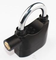 Wholesale 3pcs Universal Alarm Lock for Bike Motorcycle Chain Lock Security Alarmed Padlock Lock