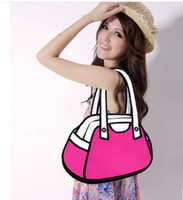 Wholesale 2013 NEW ARRIVAL WOMEN S HANDBAG CARTOON SHOULDER MESSAGE BAG design