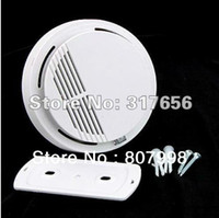 Cheap Free ship,SS168 Home Security System Cordless Wireless Smoke Detector Fire Alarm (CHK0180)