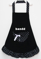 coverall apron cotton apron - Lady Lovely Princess Style Cotton Apron with big pocket for Cooking Kitchen