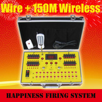 Wholesale 24 channels Sequential and Salvo fire Wireless remote control fireworks firing System waterproof case DE24R