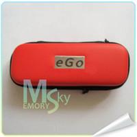Cheap AAA EGO Case S M L Ego Zipper Carry Case for single double kit Electronic Cigarette 000375 30pcs
