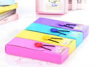 Wholesale Creative Simple Stationery Candy Colors Storage Box Button Elastic Pencil Bag Pocket Stationery Case