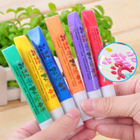 Wholesale 24pcs Magical Popcorn pens colors DIY Children s toys squeeze the pencil Hands on