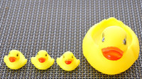 Wholesale P23 sets Baby Kids Bathe Duck Toys set for Children Non Toxic Rubber Toys Sounds Favourite Gift Boys girls