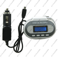 Wholesale 45pcs MP3 Player FM Car radio TRANSMITTER with LCD for MYY1431