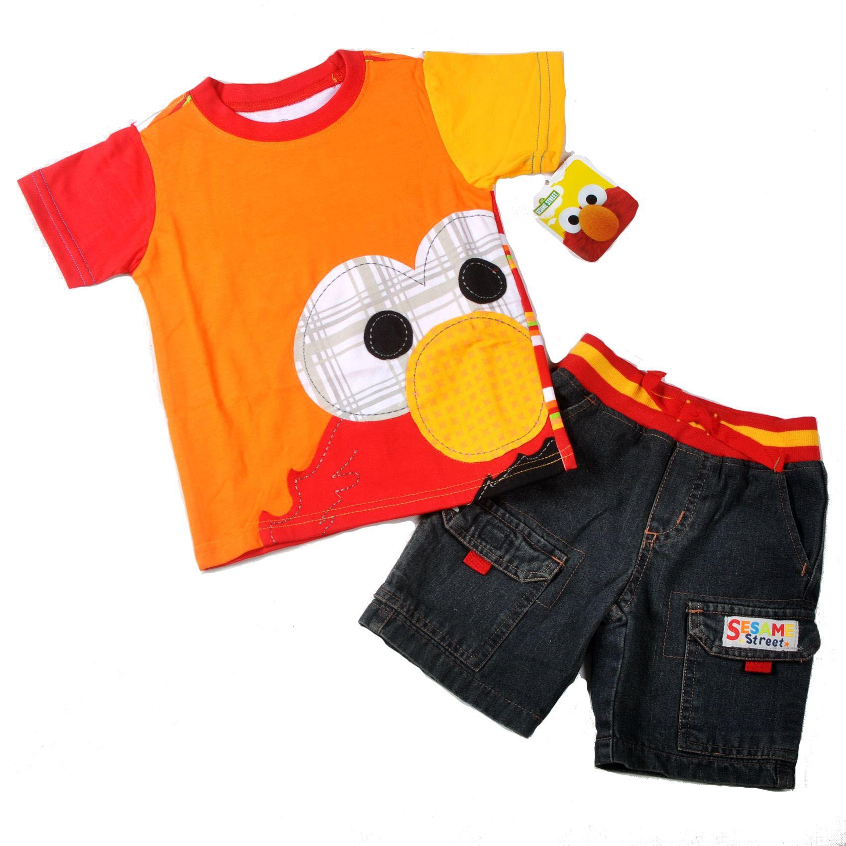 2017 2013 Brand New Boys Sesame Street Elmo Summer
