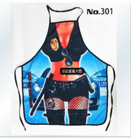 Wholesale New Novelties Funny Kitchen Cooking APRON Christmas Creative Women Police Sexy Apron Best Gift For Your Girlfriend