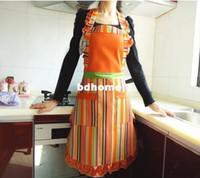 Wholesale fashion Kitchen aprons work wear apron princess canvas apron