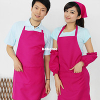 Wholesale High quality pinks Candy color apron work restaurant waiter tooling