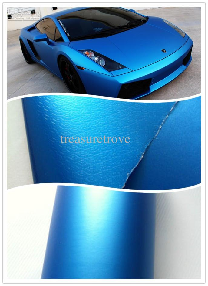 Car Vinyl Wrap Cost >> 2017 2 Rolls Pearl Blue Matte Vinyl Car Wrapping Car Graphics Body Stickers Full Wrap.1.52 ...