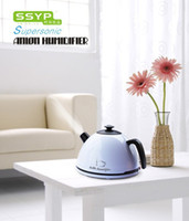 Wholesale 18pcs ctn Novelty Gift Kettle Humidifier SYYP Mini Anion Ultrasonic Air Humidifier white red yellow V
