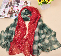 Long big red scarf - mu212 check scarf big size shawl fashion voile cotton long scarf fashion muslim hijab