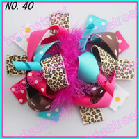Other Other Children's free shipping 20pcs 5-6''boutique funky fun hair bows popular hair bows clips zebra character clips