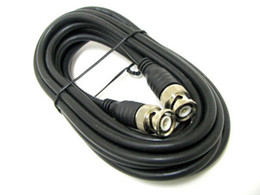 6.56' FT BNC RG59 Male to Male Cable VIDEO   CAMERA   CCTV Coaxial Patch 2 meter Cable 100pcs  Lot Express Free Shipping